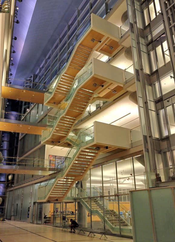 Minneapolis Downtown Library -- atrium