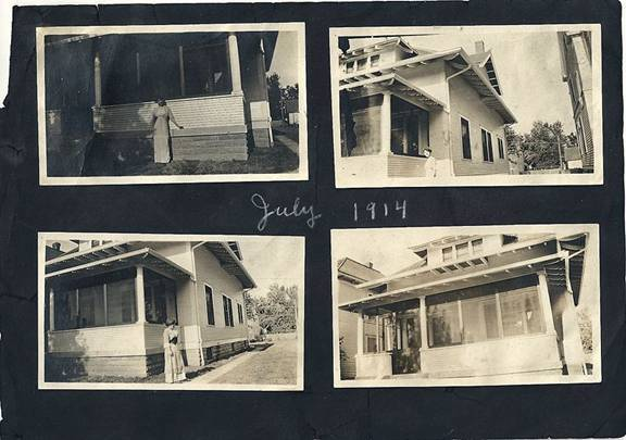 Images of 1422 Emerson in July 1914
