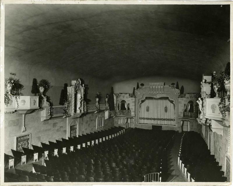 Granada Theater auditorium