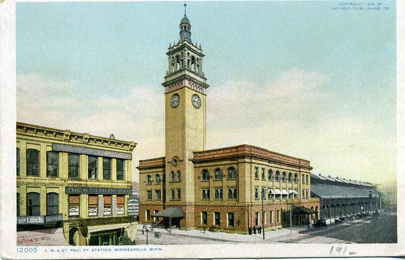 Milwaukee Depot, 1908