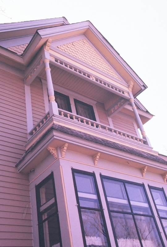 1625-17 Dupont Avenue; detail of north facade
