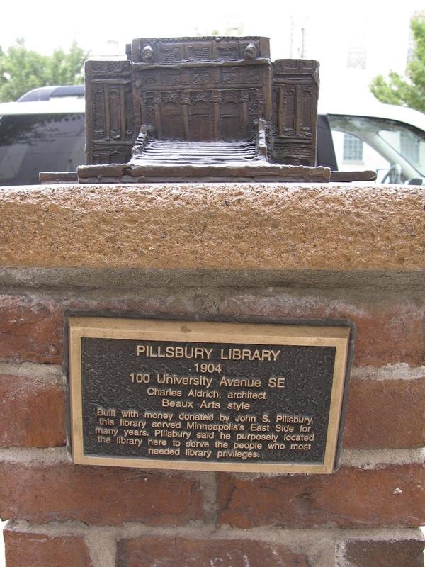 Pillsbury Library Sculpture