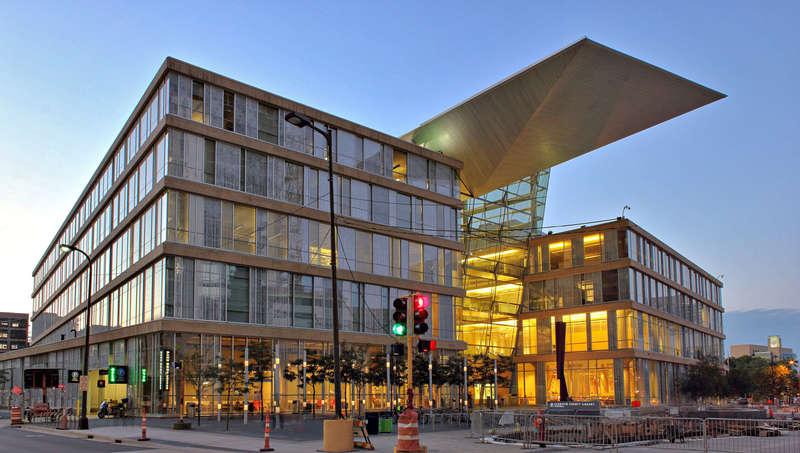 Minneapolis Downtown Library -- exterior