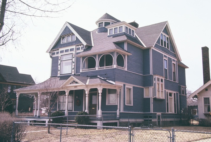 North and front facades of 1501 Dupont Avenue North