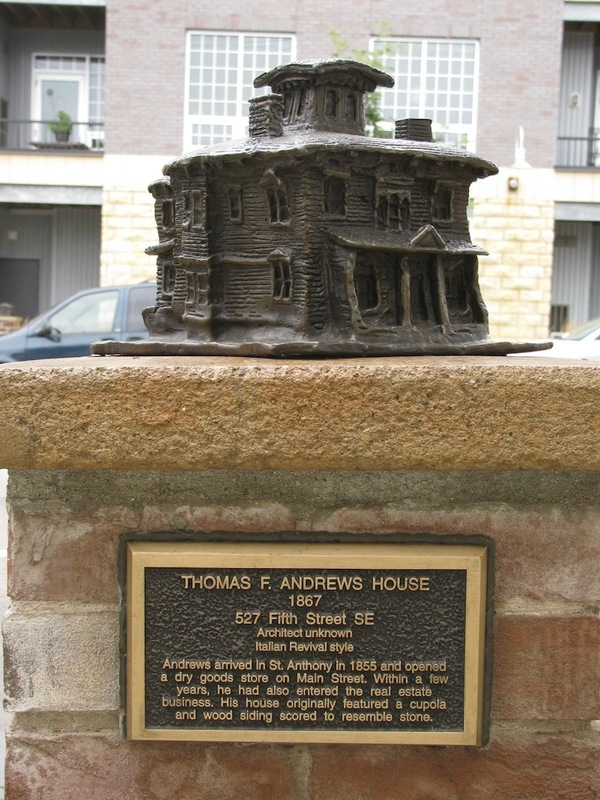 Thomas Andrews House Sculpture